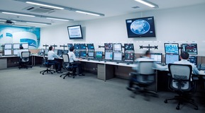 remote operation centre in Shanghai China